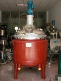 电加热反应釜 蒸汽加恒?#24405;?#23618;反应锅 不锈钢反应罐