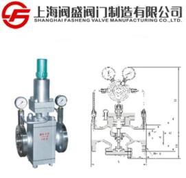 YK43X/F先导活塞式气体减压阀