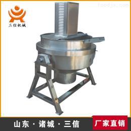 半自动蒜蓉酱搅拌锅    酱料加工夹层锅