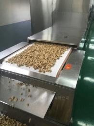 南瓜子烘烤熟化设备,微波瓜子熟化机器