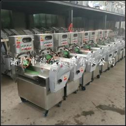 DER-801一人可操作多功能切菜机 热销全自动切菜机生产厂家