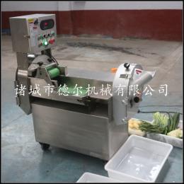 DER-801新款推薦 商用多功能雙頭切菜機 自動切片切絲機