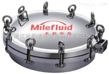 ML-RK卫生机304不锈钢法兰人孔温州厂家