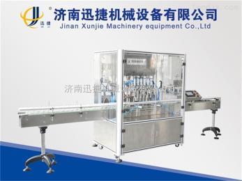 xj-24酱料灌装机 带搅拌装置 不损物料的灌装设备
