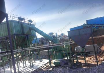 磨粉生产线 HC1700纵摆磨粉机 铁矿雷蒙磨