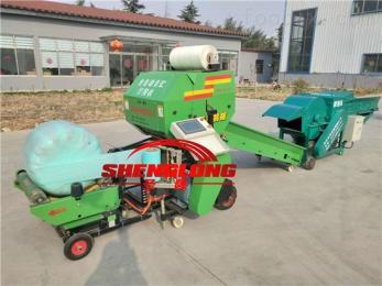 SL5552青贮饲料玉米秸秆青贮打捆机技术视频