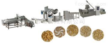 膨化食品妙脆角粟米条生产设备