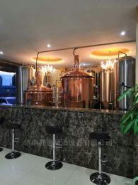 酒店自釀型啤酒設備