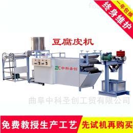 DP-時產100斤~600斤豆腐皮生產機械,小型千張機成套設備價格