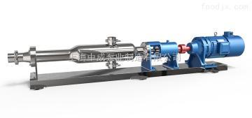 G20-1 G25-1 G35-1G系列卫生单螺杆泵