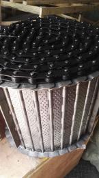 金属链板输送链条滚筒
