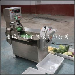 801德尔全自动多功能果蔬切割设备商用切菜机