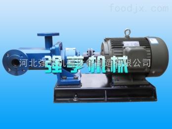 3GB徐州强亨机械3GB保温螺杆泵常用于输送液压油重油等介质