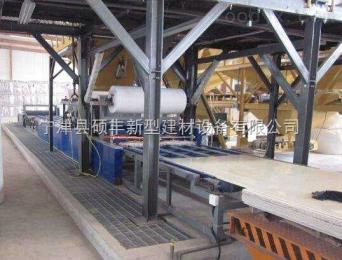 各種型號新型A級防火輕勻質保溫板全套設備價格