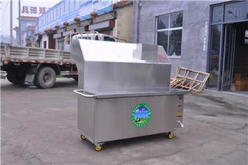 JR-200-2-G批发昭通2.5米无烟净化烧烤车价格零油烟