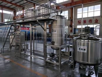 小型酸奶加工设备/巴氏奶生产设备图片