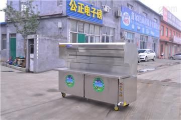JR-200-2-G铜川1.5米无烟烧烤车清洗方法直销