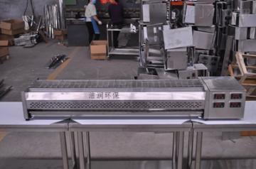 JRD厂家直发包头1.8米无烟黑金管烧烤炉价格