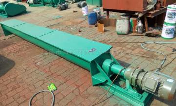 LSLS螺旋輸送機安裝時水平度的測量