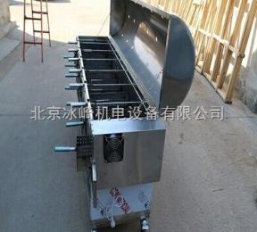 bj76全自动无烟烤羊腿专用炉 翻转可视烧烤炉