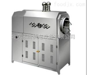bj76滚筒式炒芝麻的机器|全自动电加热花生炒料机|北京大圆锅炒栗子机器