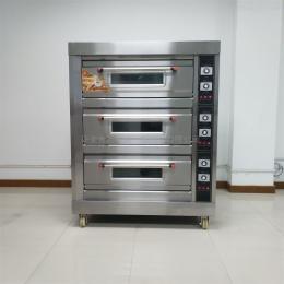 YM-306D三層六盤電烤箱 面包月餅烤爐 面包房設備