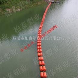 浮体呼伦湖生活垃圾治理拦截塑料浮筒价格