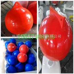 浮球临沂内湖水域警戒线浮球 绳索连接式水上塑料浮子
