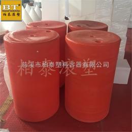 齐全连城县河道PE塑料拦污栅 防腐蚀水下防护网浮筒