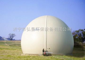 沼气工程,双膜气柜优势