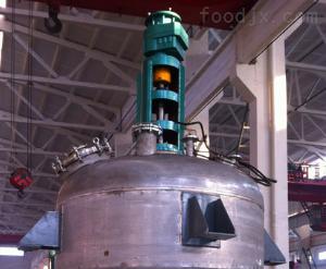 外盘管加热不锈钢反应釜