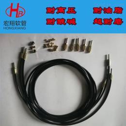 18053449863纤维编织黄油树脂软管,高压树脂黄油枪软管