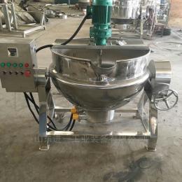 导热?#22270;?#23618;锅厂家 豆浆牛奶蒸煮锅400L
