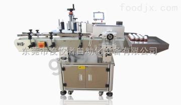GSJ-T-21100搓滚式立式圆瓶贴标机_全自动贴标设备生产厂家_【佼佼者自动化】