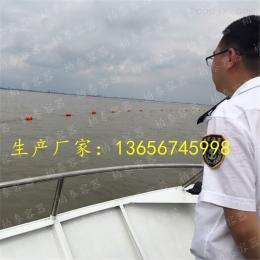 航道设标界限浮筒