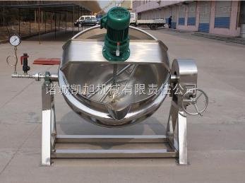 600节能环保设备电加热 可倾夹层锅 蒸煮熬制搅拌熬制多功能夹层锅