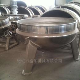 SH-100蒸汽夹层锅 固定立式不锈钢蒸煮锅 厂家直销