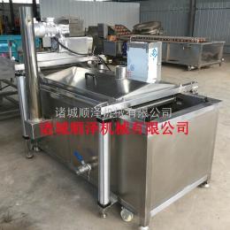 SZ-2000厂家直销 花生米油炸生产线 自动控温油炸流水线 全不锈钢制造