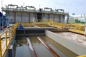 洛阳天泰平顶山水泥厂地埋式污水处理设备流程