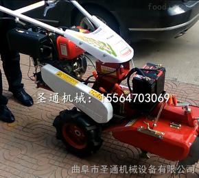 STKG-186白姜种植培土机 行走式电柴两用开沟机