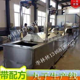 生产线型丸子生产线 丸子成型机
