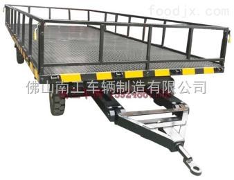 NGTT05SF-23/55-4S带板簧减震5T平板拖车
