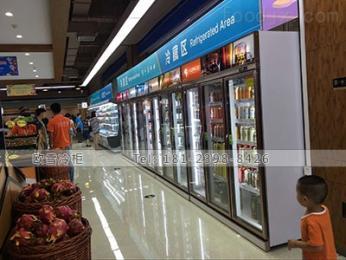 LCB-1380FX广东定制超市饮料展示柜找哪家好