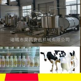 加工定制巴氏奶生产线-小型巴氏奶生产线流水线