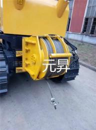 YS系列液压绞车挖掘机安装3吨卷扬机尺寸