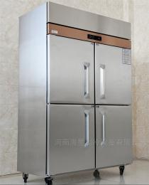 不锈钢酒店冰柜陕西西安卖商用四门六门立式厨房冰箱