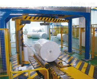ROBO-P2100F榕城市在線懸臂式圓筒拉伸膜纏繞包裝機制做