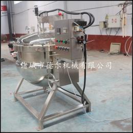 100L小米粥高效蒸汽高压蒸煮锅