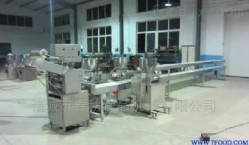 面食加工设备下陷机搭配真空和面机生产量大
