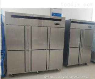 1郑州商用冰箱批发厨房不锈?#33267;?#38376;四六门冰柜